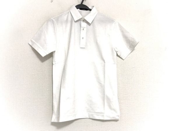 ブラックレーベルクレストブリッジ 半袖ポロシャツ サイズ1 S メンズ美品  白