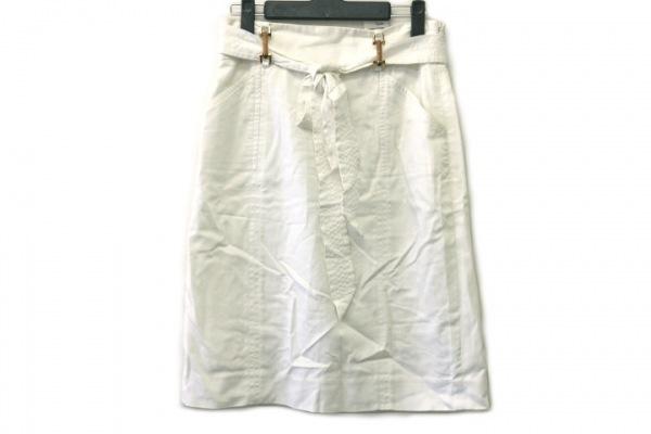MILLY(ミリー) スカート サイズ4 S レディース 白