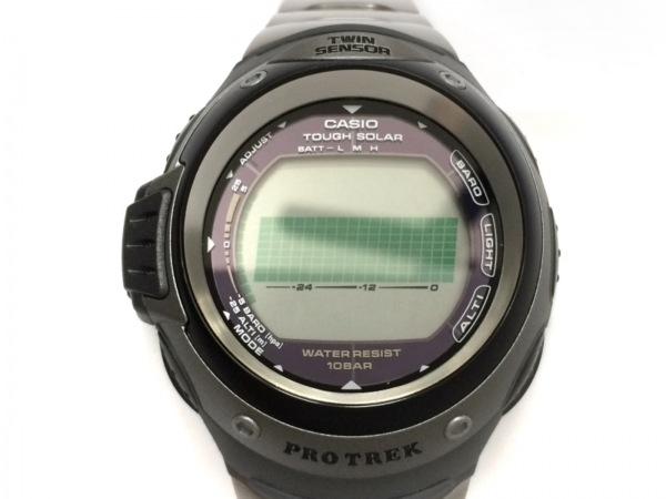 CASIO(カシオ) 腕時計美品  PRG-100TJ メンズ 黒