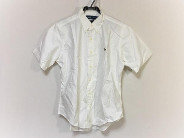 RalphLauren(ラルフローレン) 半袖シャツ サイズL メンズ 白