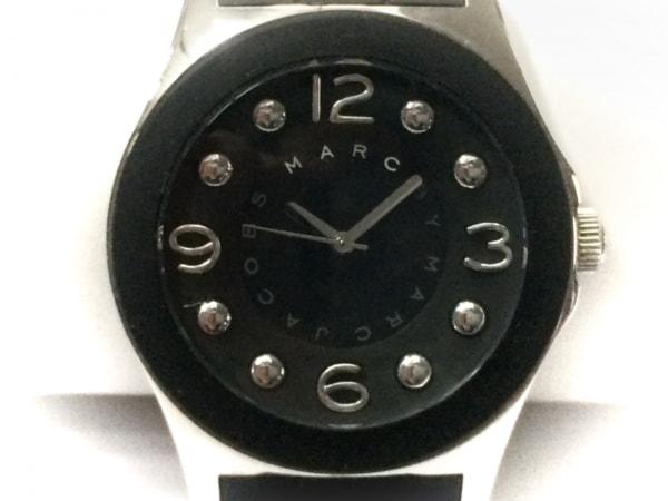 MARC BY MARC JACOBS(マークジェイコブス) 腕時計 MBM2544 メンズ ラバーベルト 黒