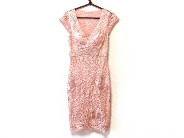 スーウォン ワンピース サイズ2 M レディース美品  ピンク レース/メッシュ/刺繍