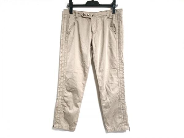 エルマノシェルビーノ パンツ サイズ42 L レディース ライトブラウン