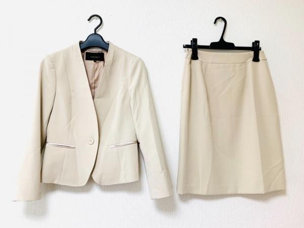 SunaUna(スーナウーナ) スカートスーツ サイズ38 M レディース ベージュ