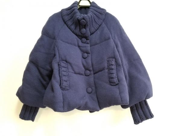 cacharel(キャシャレル) ダウンジャケット サイズ36 S レディース ネイビー