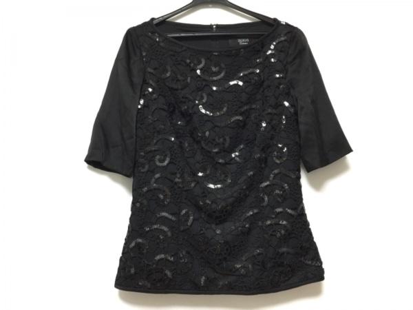 TADASHI(タダシ) 半袖カットソー サイズ6 M レディース 黒