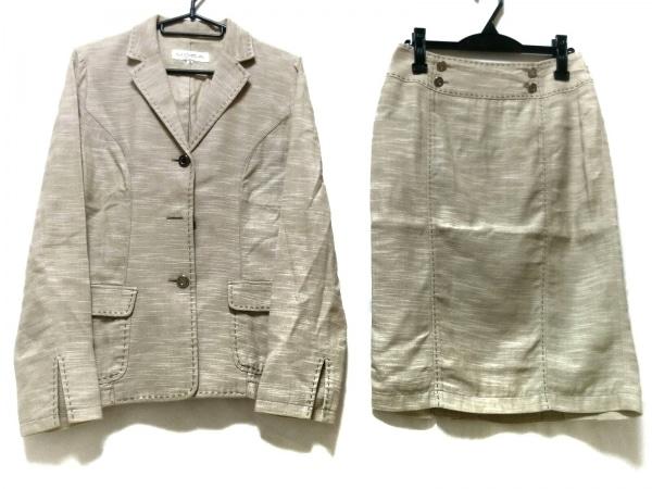 MOGA(モガ) スカートスーツ サイズ2 M レディース ベージュ