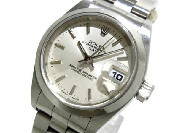 ロレックス 腕時計 オイスターパーペチュアルデイト 79160 レディース シルバー