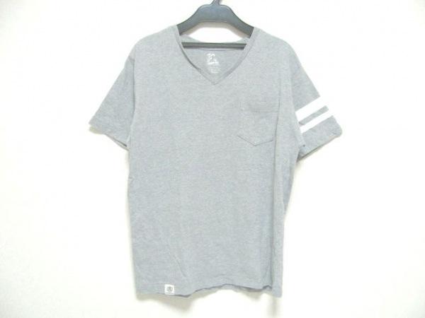 MOMOTARO JEANS(モモタロウジーンズ) 半袖Tシャツ サイズM M メンズ グレー