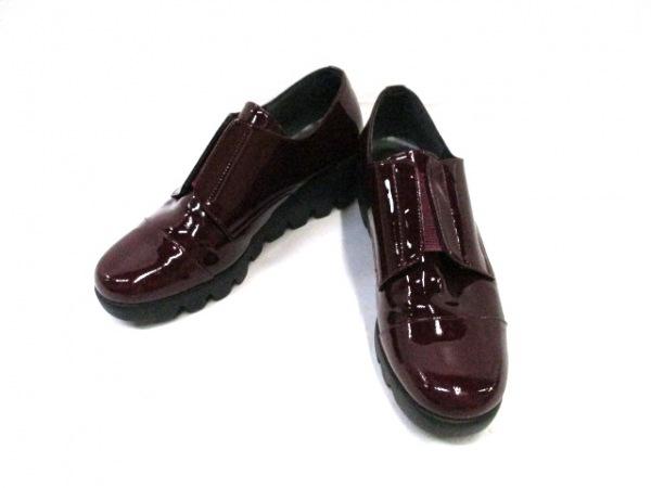 ヒルズ アベニュー 靴 23 レディース - - ボルドー 靴 (その他) エナメル(レザー)