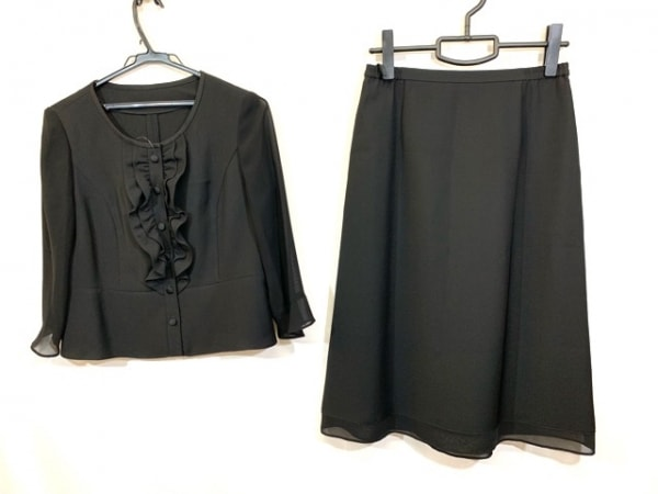 Tokyo Soir(トウキョウソワール) スカートセットアップ サイズ11 M レディース - - 黒