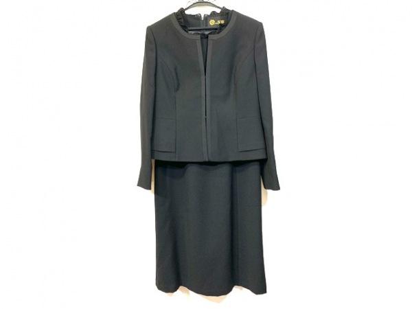 トウキョウソワール ワンピーススーツ サイズ11 M レディース美品  - - 黒