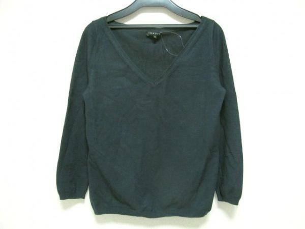 theory(セオリー) 長袖セーター サイズ2 S レディース ダークネイビー