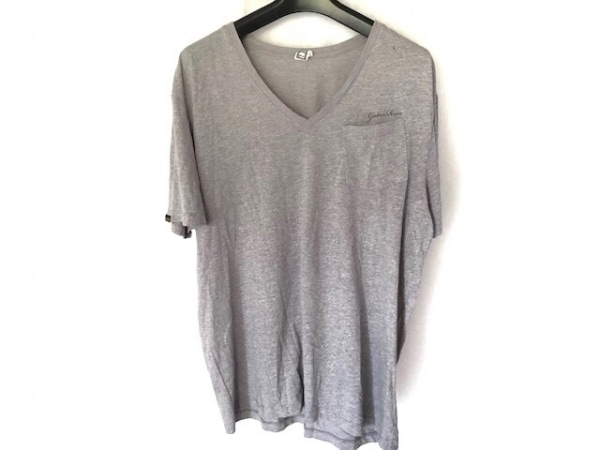 G-STAR RAW(ジースターロゥ) 半袖Tシャツ サイズL メンズ グレー