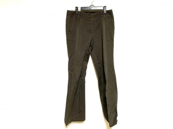 自由区/jiyuku(ジユウク) パンツ サイズ40 M レディース美品  ダークブラウン
