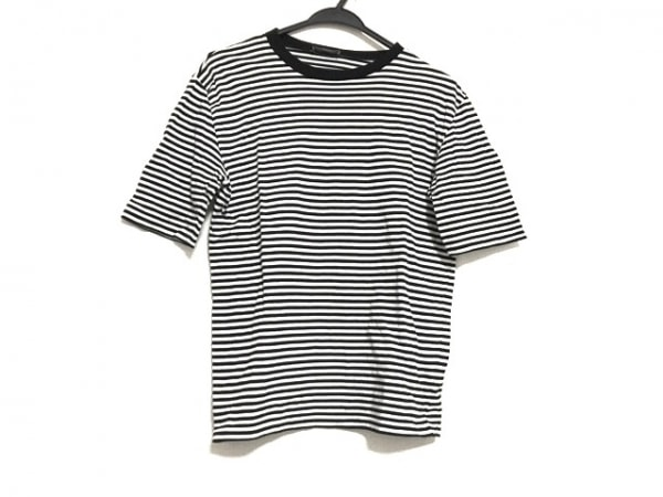 Dior HOMME(ディオールオム) 半袖カットソー サイズXXS XS メンズ 黒×白