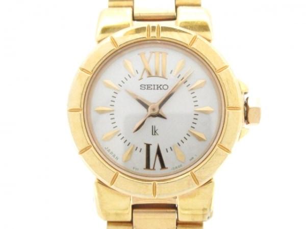 SEIKO(セイコー) 腕時計美品  ルキア V111-0AC0 レディース ライトグレー