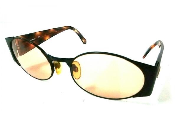 CHANEL(シャネル) サングラス 05972 91235 ブラウン×黒 プラスチック×金属素材