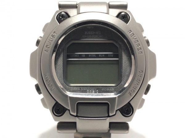 CASIO(カシオ) 腕時計美品  G-SHOCK MR-G MRG-200T メンズ シルバー