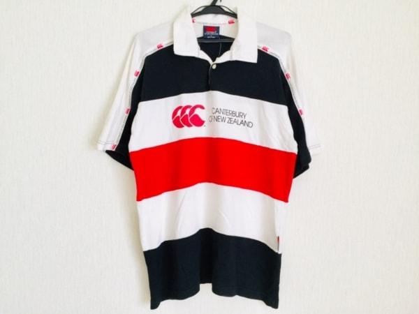 カンタベリーオブニュージーランド 半袖ポロシャツ サイズL メンズ
