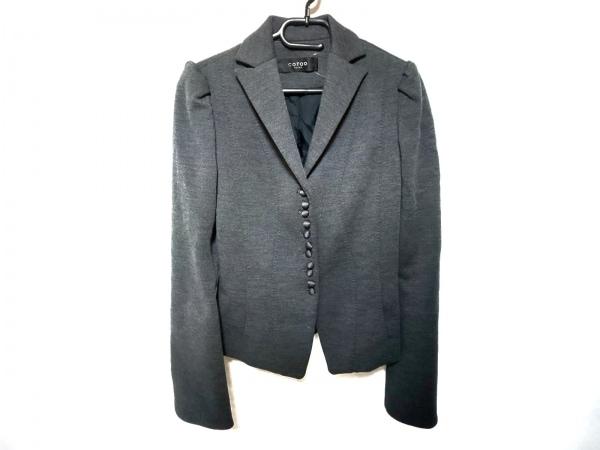 COTOO(コトゥー) ジャケット サイズ36 S レディース美品  グレー