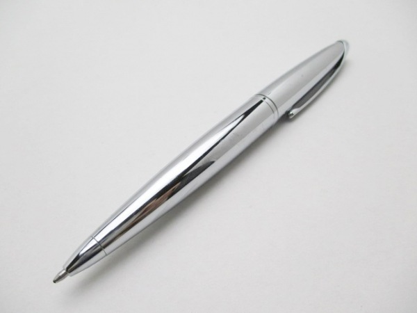 CROSS(クロス.) ボールペン美品  シルバー インクあり(黒) 金属素材