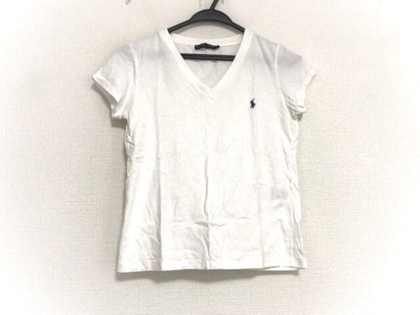 RalphLauren(ラルフローレン) 半袖Tシャツ サイズS レディース美品  白