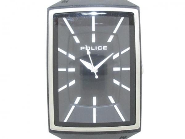 POLICE(ポリス) 腕時計美品  13077M メンズ 黒