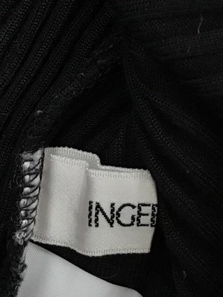 INGEBORG(インゲボルグ) 長袖セーター レディース 黒×アイボリー