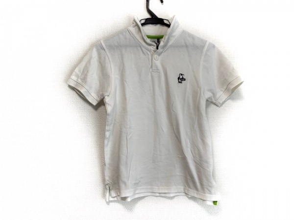 CHUMS(チャムス) 半袖ポロシャツ サイズM レディース美品  アイボリー