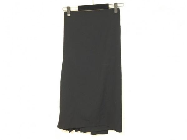 Y's(ワイズ) 巻きスカート サイズS レディース 黒