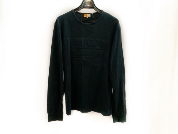 Zegna(ゼニア) 長袖Tシャツ サイズL メンズ 黒