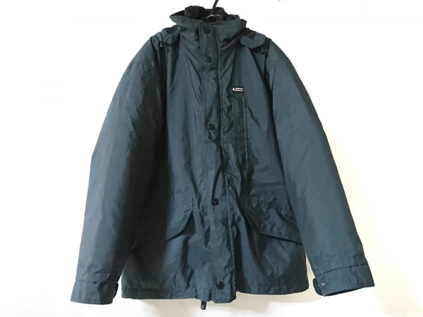ジェオスピリット ダウンジャケット サイズ48 XL メンズ美品  ダークグリーン 冬物
