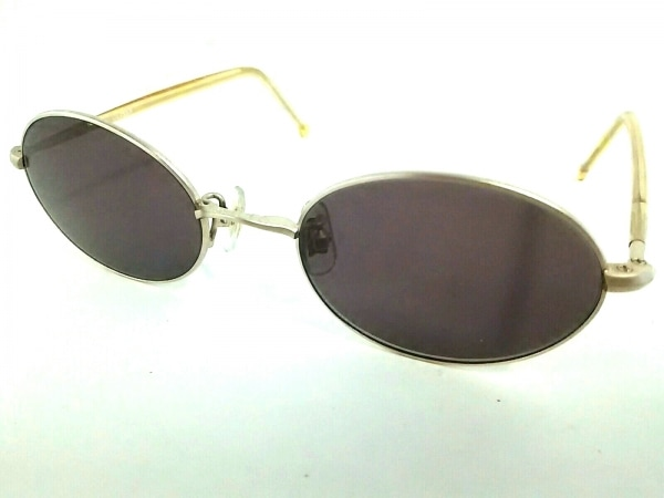 OLIVER(オリバーバレンチノ) サングラス美品  ダークブラウン×ゴールド