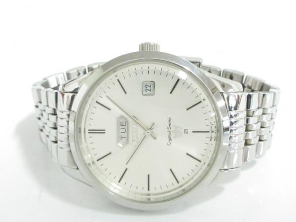 CITIZEN(シチズン) 腕時計 クリスタルセブン 8200-A05516 メンズ シルバー