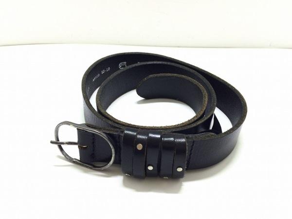 G-STAR RAW(ジースターロゥ) ベルト 85/34 黒 レザー