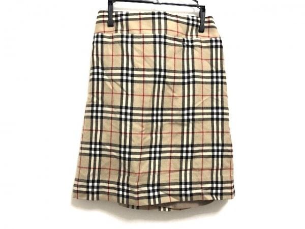 バーバリーブルーレーベル スカート サイズ36 S レディース美品  チェック柄