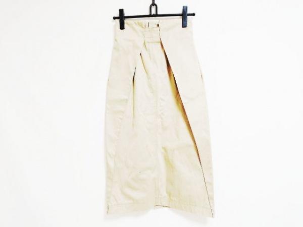 グレースコンチネンタル スカート サイズ38 M レディース ベージュ