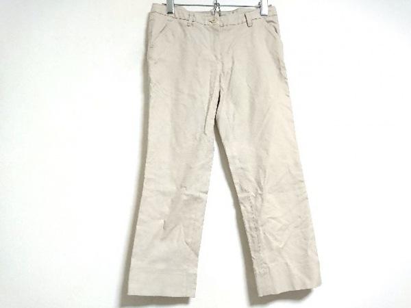 INCOTEX(インコテックス) パンツ サイズ40 M レディース新品同様  ベージュ
