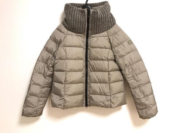 アッド・エーディーディー ダウンジャケット サイズ6 M レディース美品  ベージュ