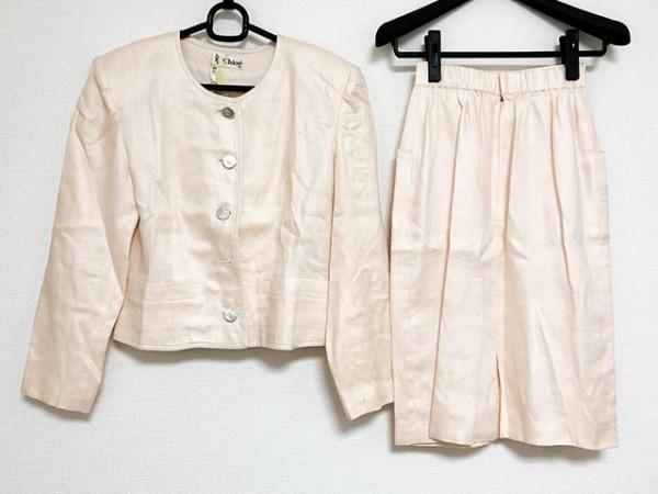 MISS CHLOE(クロエ) スカートスーツ サイズ40 M レディース ベージュ
