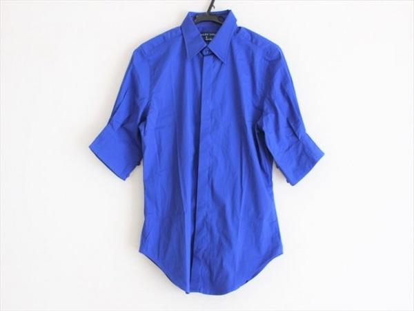 RalphLauren(ラルフローレン) 半袖シャツ サイズS メンズ美品  ブルー