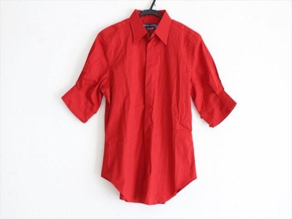 RalphLauren(ラルフローレン) 半袖シャツ サイズS メンズ美品  レッド