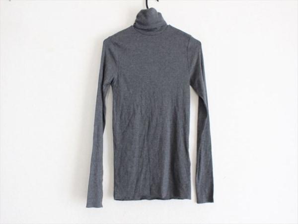 ポロラルフローレン 長袖セーター サイズM レディース美品  ダークグレー