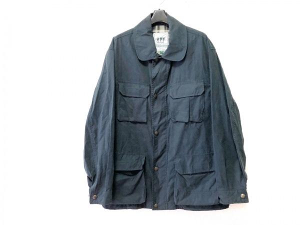 Henry Cotton's(ヘンリーコットンズ) ブルゾン サイズ48 XL メンズ ネイビー 春・秋物