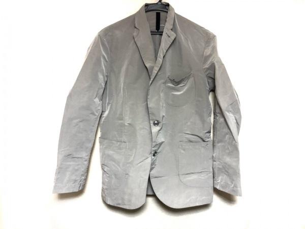 AQUARAMA(アクアラマ) ジャケット サイズ46 XL メンズ美品  ライトグレー