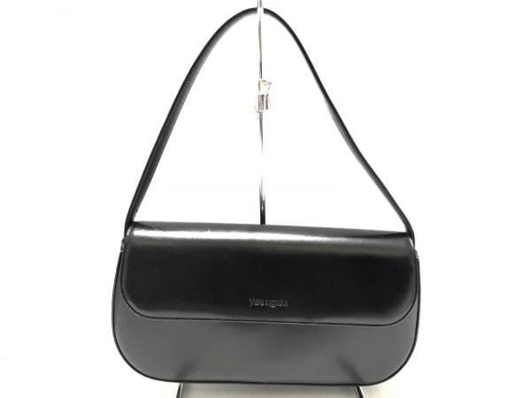 yumi katsura(ユミカツラ) ハンドバッグ 黒 レザー