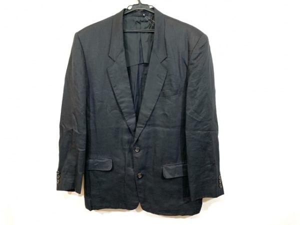 COMME CA DU MODE MEN(コムサデモードメン) ジャケット サイズM メンズ 黒 ネーム刺繍