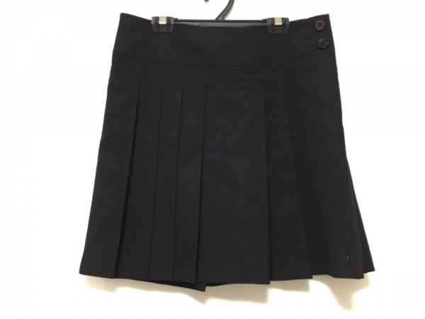 Y's(ワイズ) スカート サイズ1 S レディース 黒 プリーツ