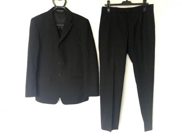 FICCE(フィッチェ) シングルスーツ サイズ46 XL メンズ 黒